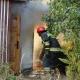 Pożar altanki w Dzierżoniowie