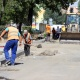 Przebudowa na B��kitnym wci�� trwa